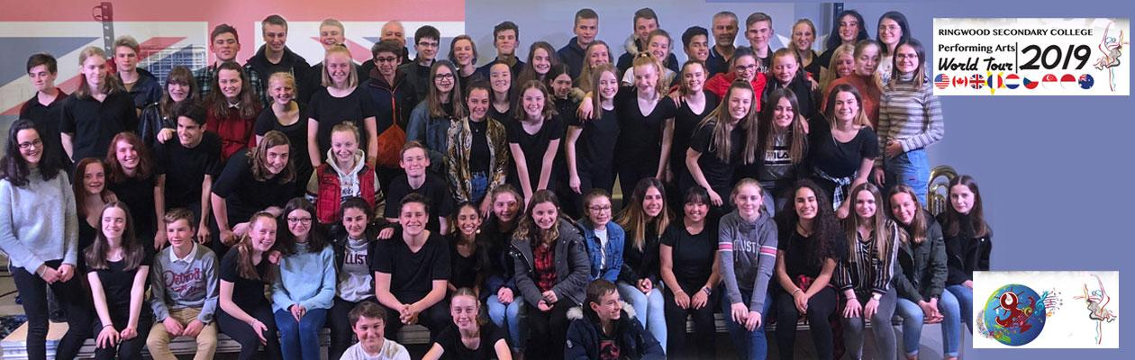 Ringwood Secondary College World Tour 2019