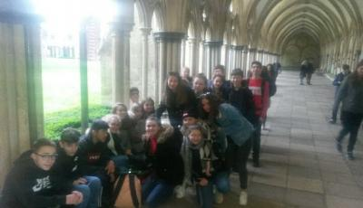 Salisbury Cathedral - Voyage en Angleterre - 4a et 4b